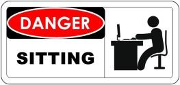 Sitting danger